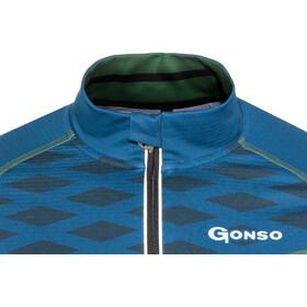 Gonso Gneis Langærmet cykeltrøje Herrer blå